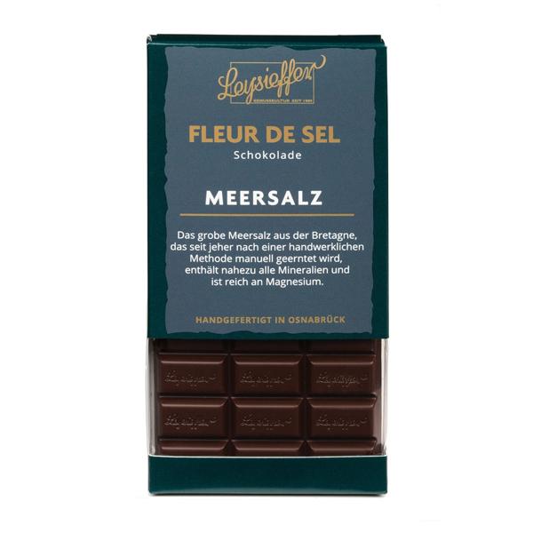Schokolade Meersalz